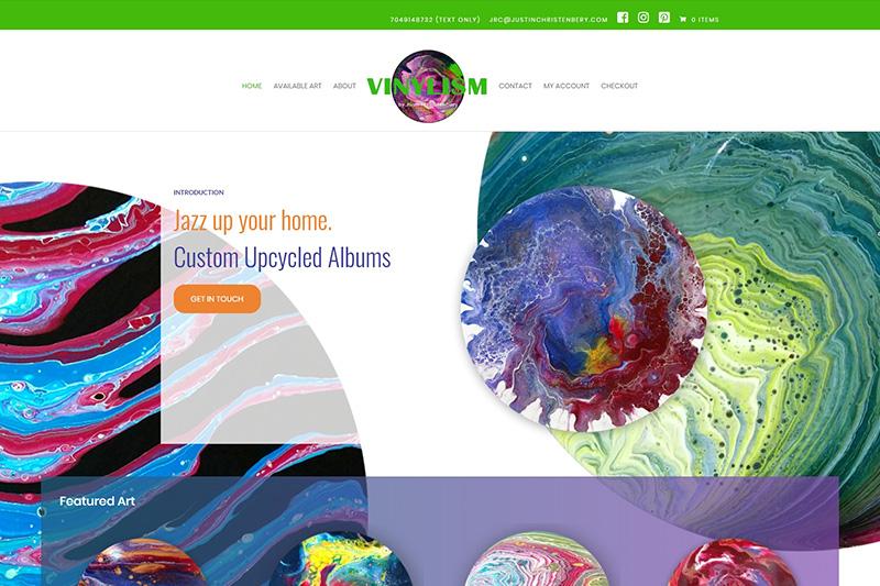 vinylism art desktop large portfolio