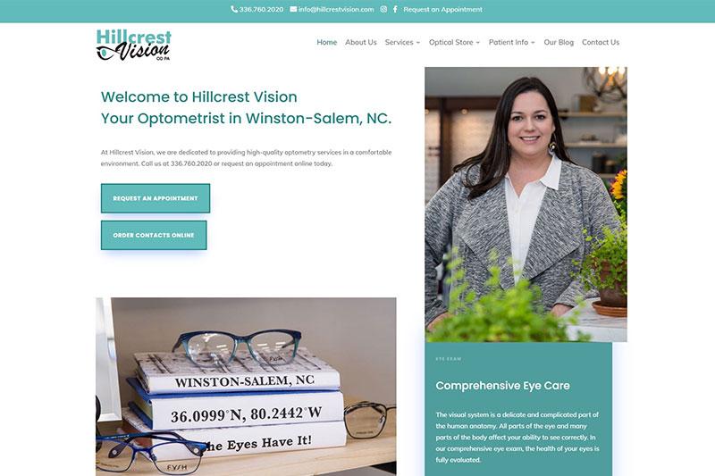 hillcrest vision desktop large portfolio