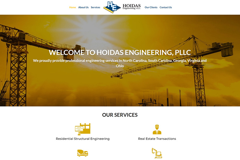 hoidas engineering desktop large portfolio