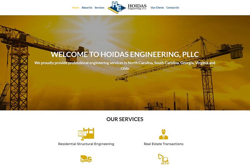 hoidas engineering desktop large portfolio