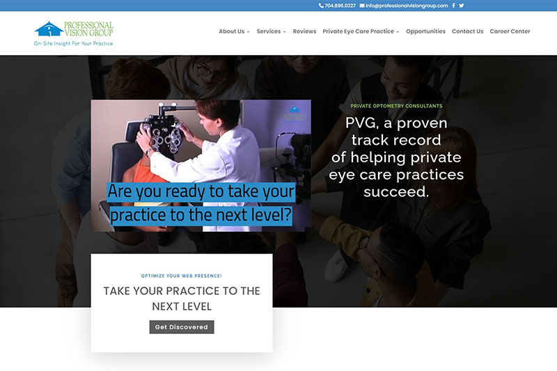 professional vision group desktop large portfolio